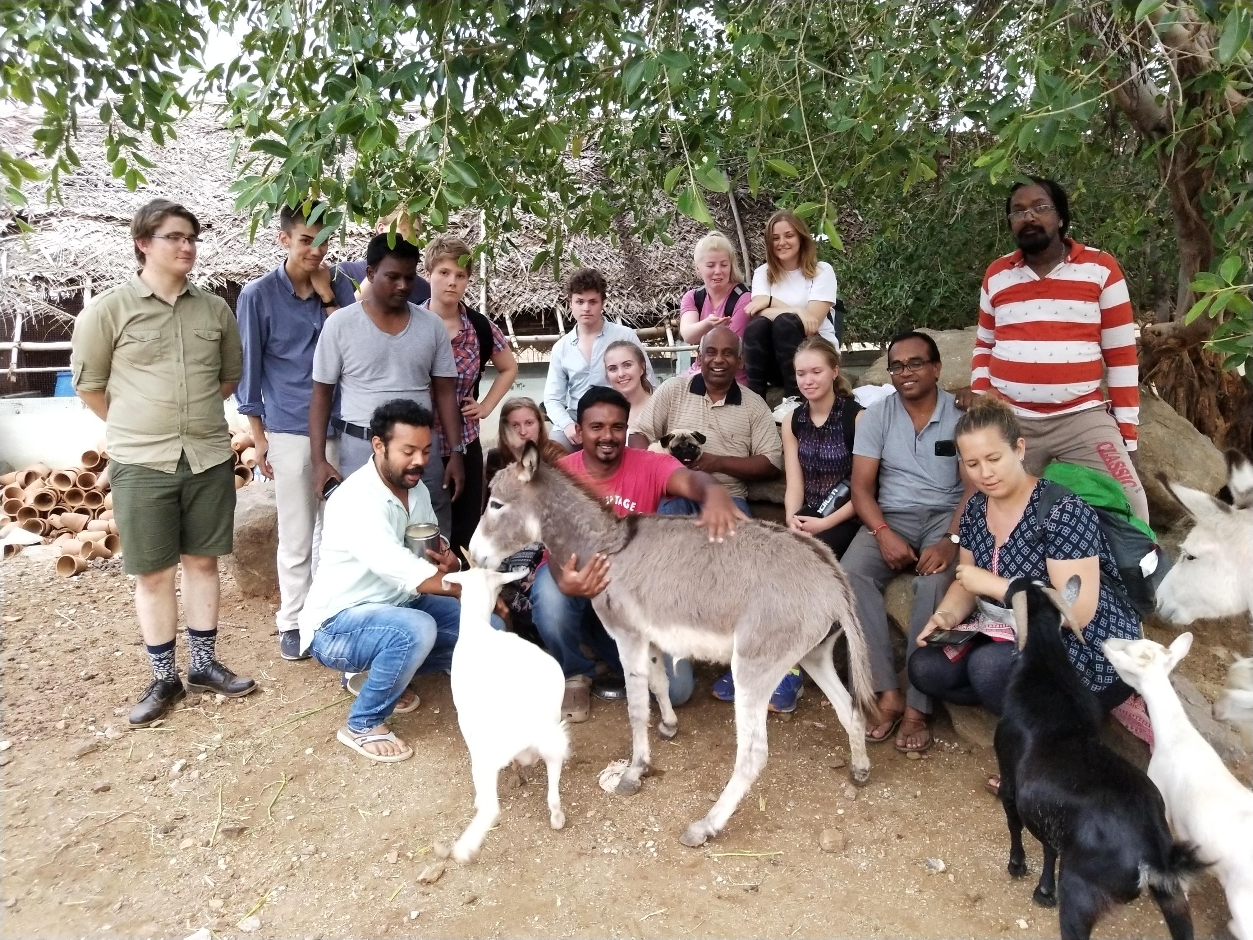 The Integrated Organic Farming Exposure Visit of Sweden Students