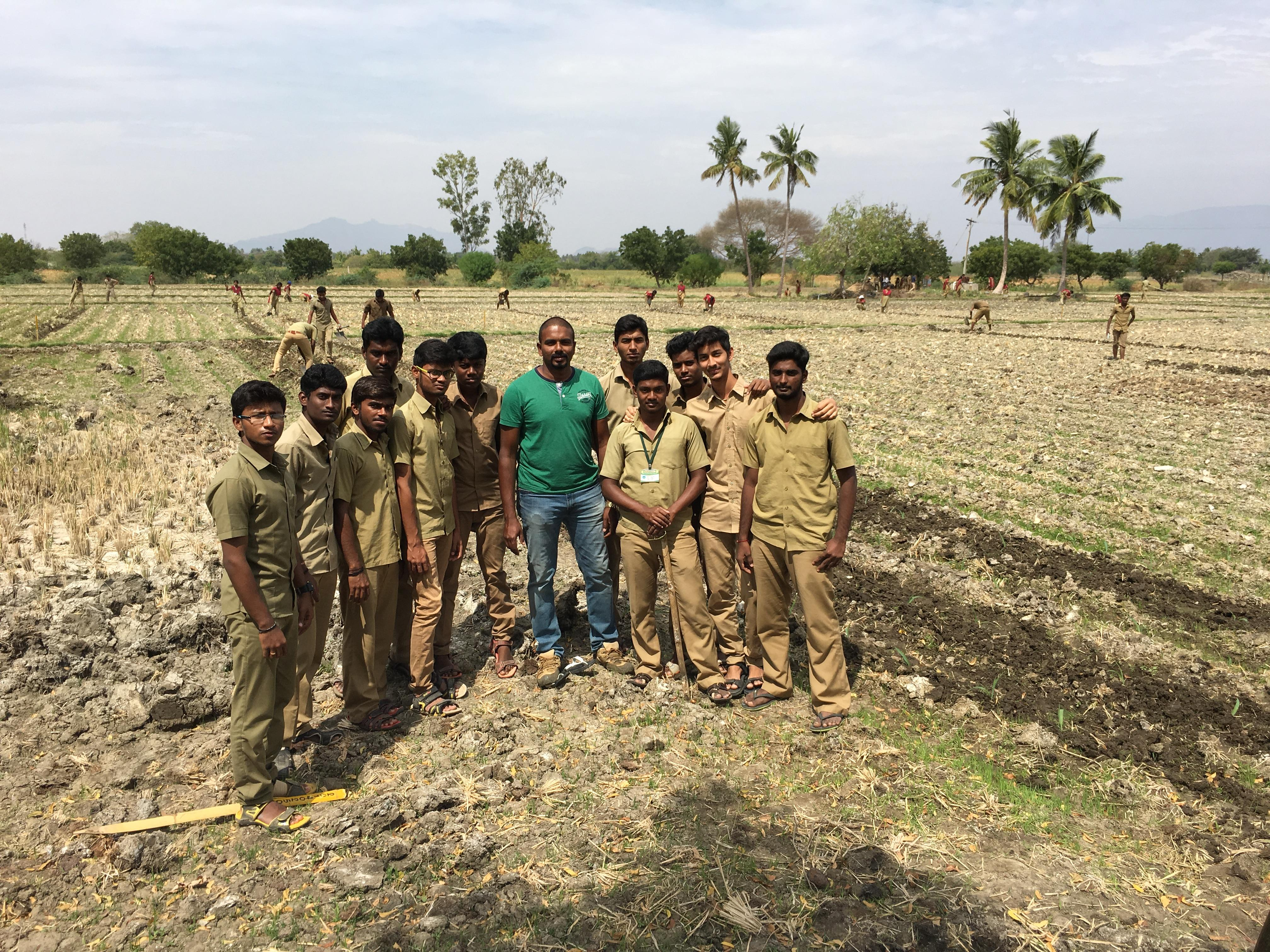 Soil Microbiology class to the Agri students of Imayam Agri College