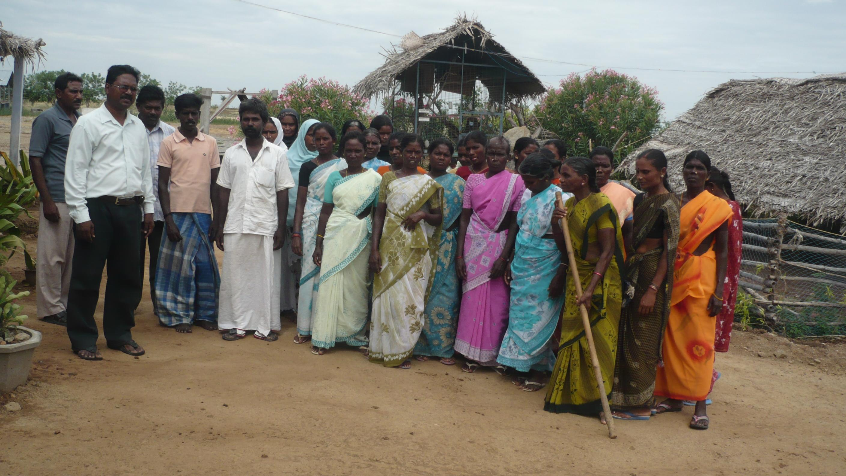 Integrated Farming & Water Management training to the Farmers of Perambalur