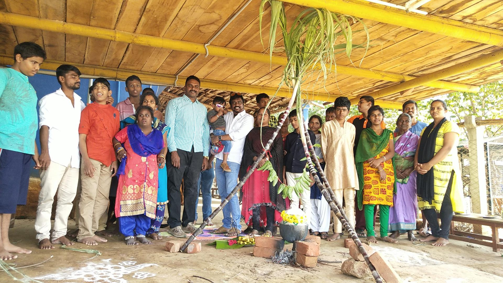 Pongal Celebration with Special Children