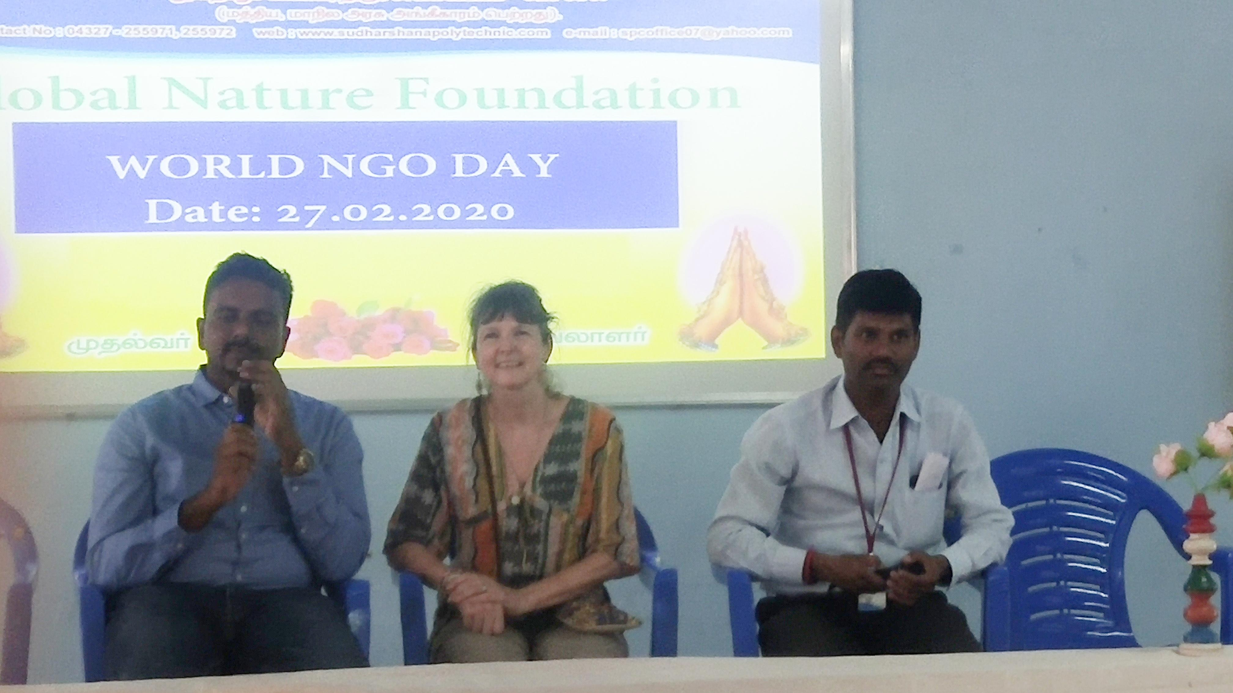 THE WORLD NGO DAY CELEBRATION