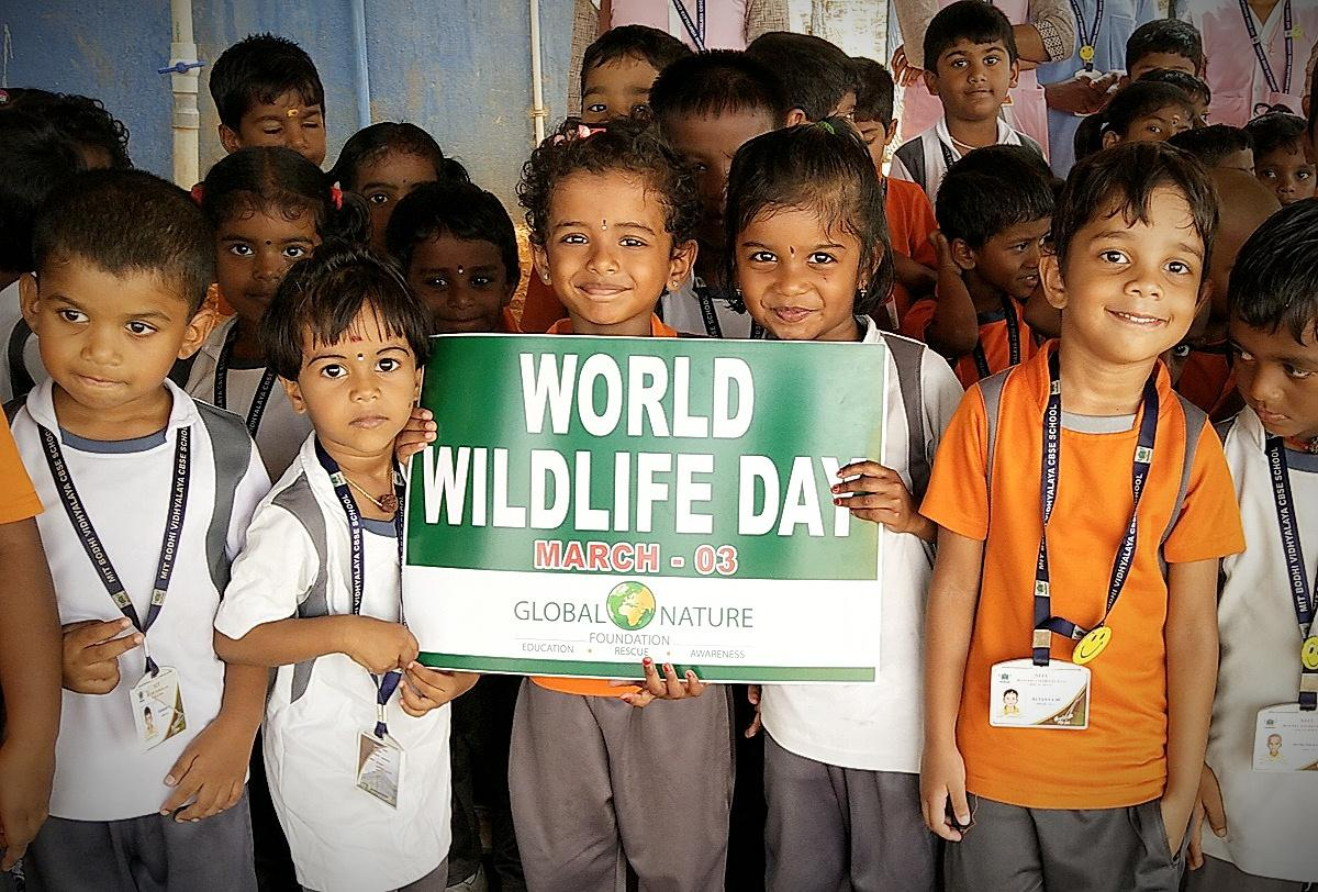 Wildlife Day Celebration with MIT Bothi Vidhyalaya CBSC School Musiri